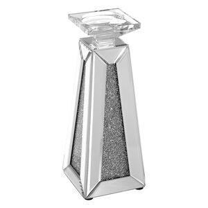 Cashel Living Small Diamond Pyramid Candle Holder