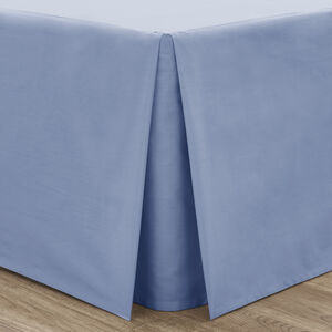 SINGLE PLATFORM VALANCE Luxury Percale Cornflowe