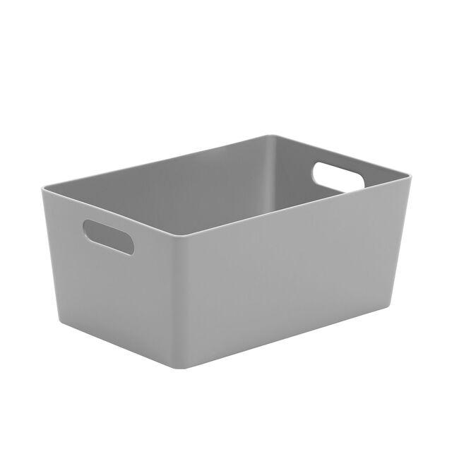 Studio 4.02 Rectangular Basket Cool Grey
