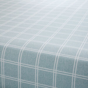 BRUSHED COTTON DONOGHUE CHECK Single Fitted Sheet