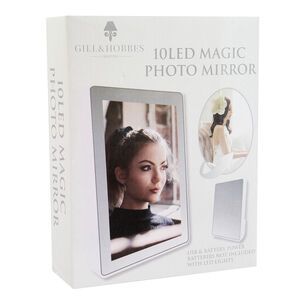 10 LED Magic Photo Mirror