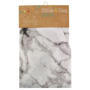 Marble Black/White Apron