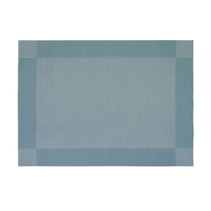 Netted Oxford Duck Egg Placemat