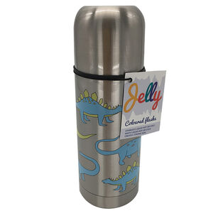 Jelly Stainless Steel Dinosaur Flask 350ml