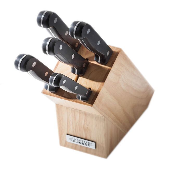 Judge Sabatier 5 Knife Set with Block