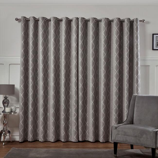 PEARL DOVE GREY 90X90 Curtain