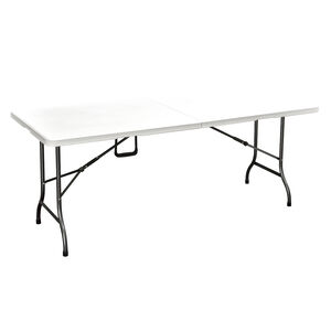1.8M White Folding Table