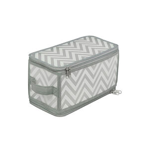 Clever Chevron Clothes Shoe Storage 30x15x15cm