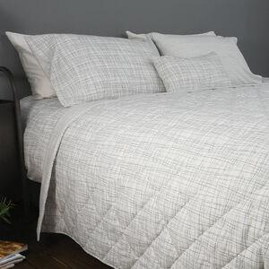 Mono Twine Grey Bedspread 200cm x 220cm