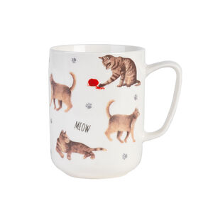 Devon Oxford And Thyme Ginger Cat Mug