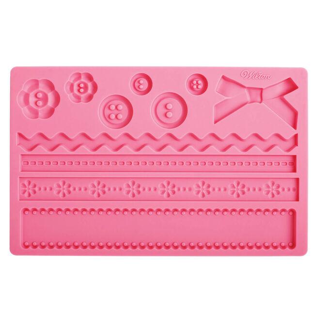 Wilton Fabric Gum Paste Mold
