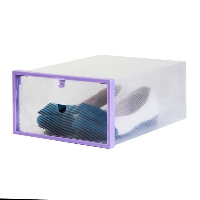 Lady's Shoe Box 2 Pack Purple