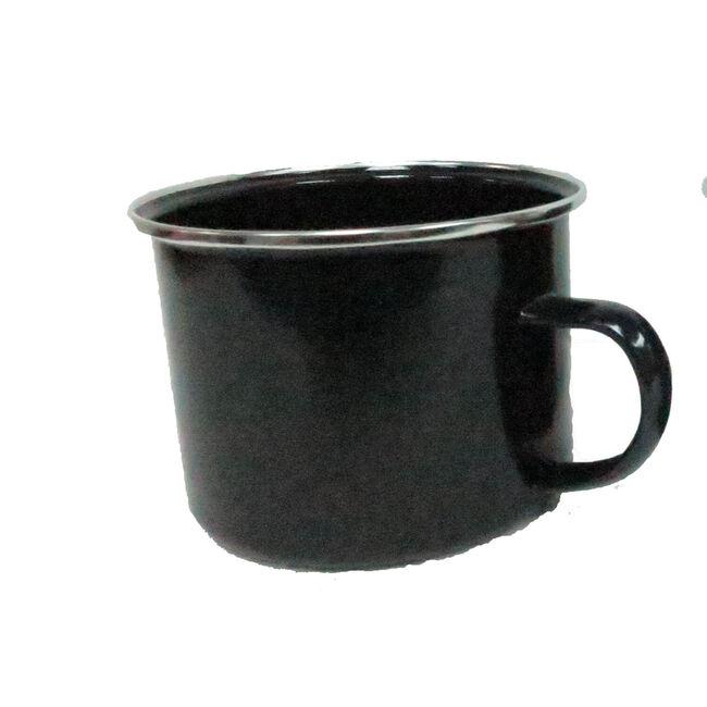 2 Black Camping Mugs