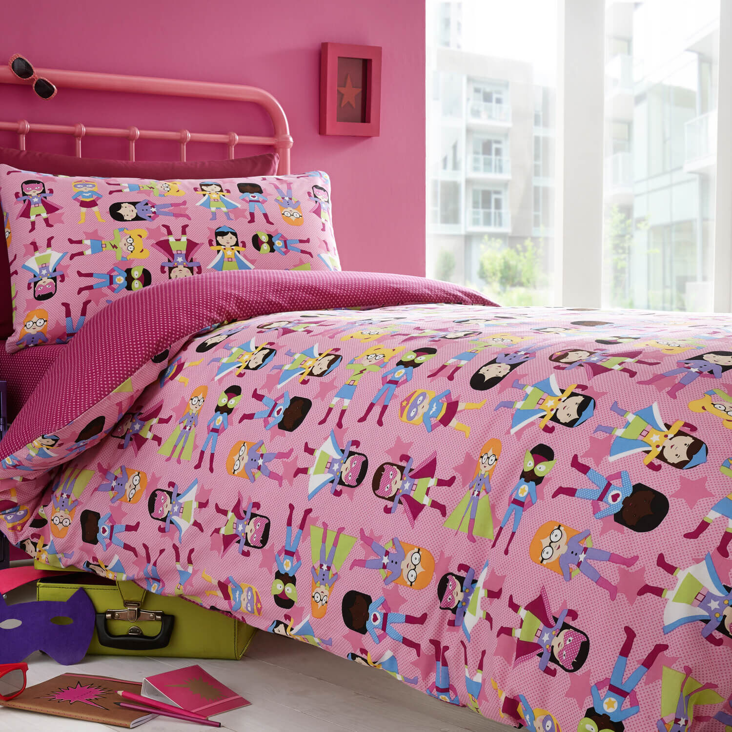 Super Diva Duvet Cover