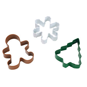 Christmas Cookie Cutters 3 Pack