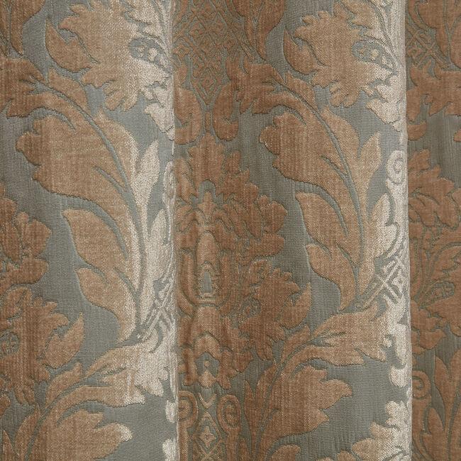 VERSAILLES DAMASK DUCK EGG 66x54 Curtain