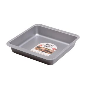 Baker & Salt Silver 23cm Brownie Tin