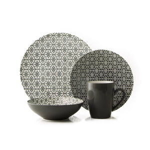 Mosaic Granite 16 Piece Dinner Set