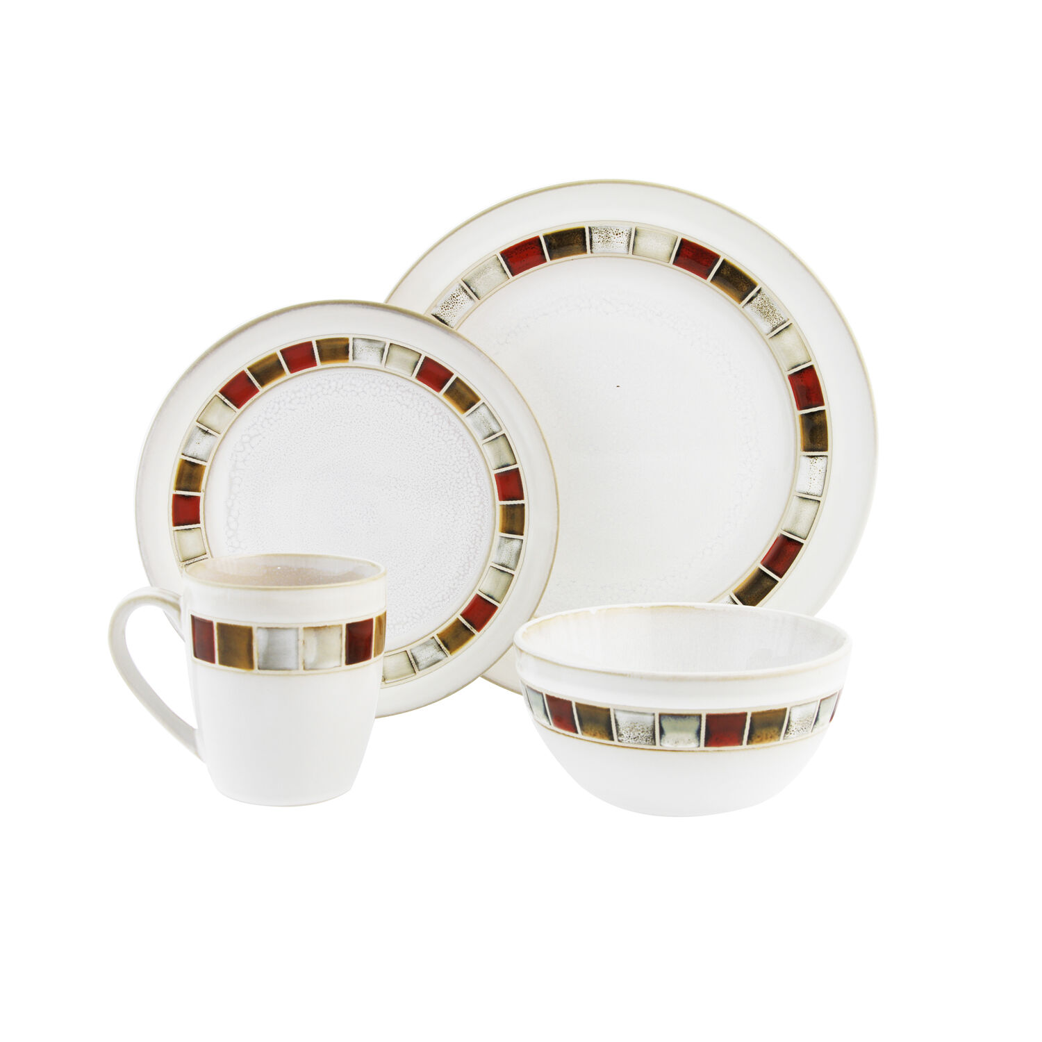 Heritage Red Harlequin Dinner Set  sc 1 st  Homestore and More & Dinnerware Sets - Home Store + More