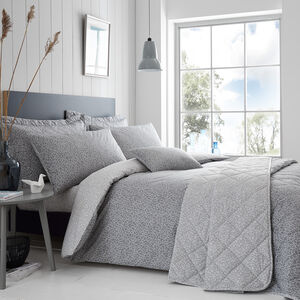 SINGLE DUVET COVER Dermot Grey