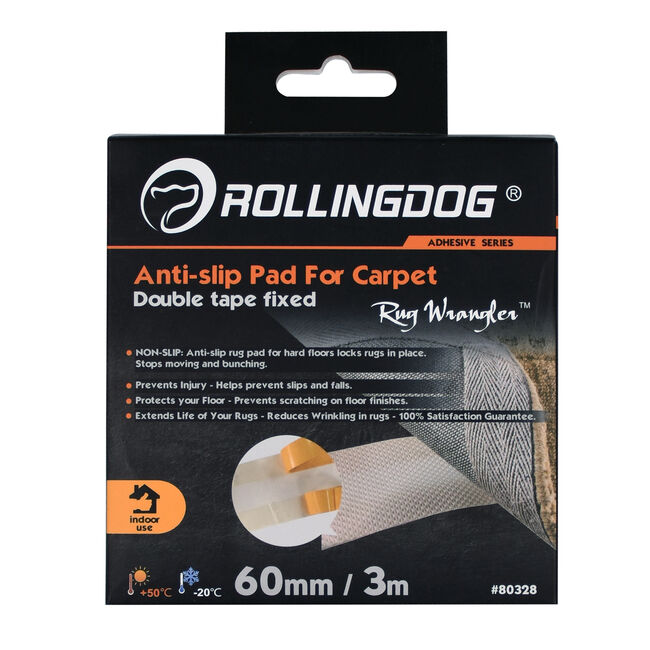 Rolling Dog Anti-Slip Pad For Carpet