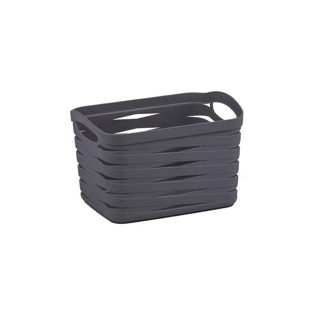 Ribbon Storage Basket 4L - Charcoal