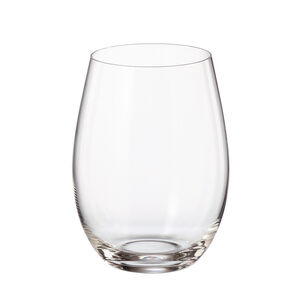 Bohemia Cristallin 6 560ml Stemless Wine Glasses