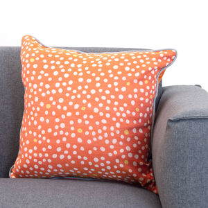 Neon Cushion 45x45cm - Orange