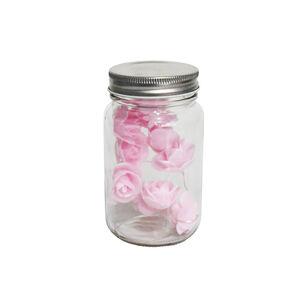10 LED Glass Jar Flower Light