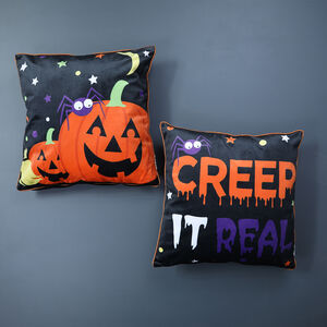 Pumpkin Cushion Cover - 2 Pack 45x45cm
