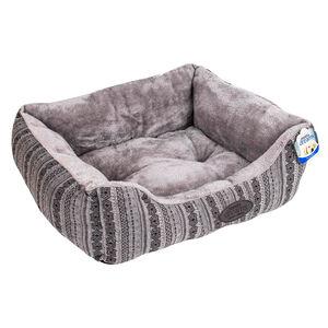 Premium Patterned Pet Bed - Medium