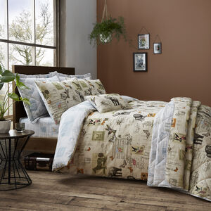 SINGLE DUVET COVER Safari Natural