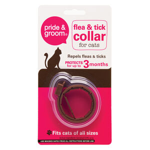 Pride & Groom Flea & Tick Collar For Cats