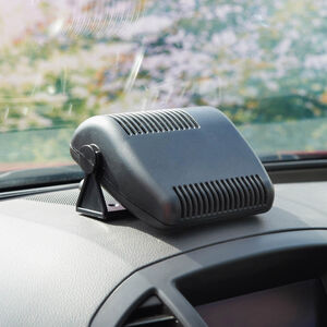 Dual Car Fan and Heater