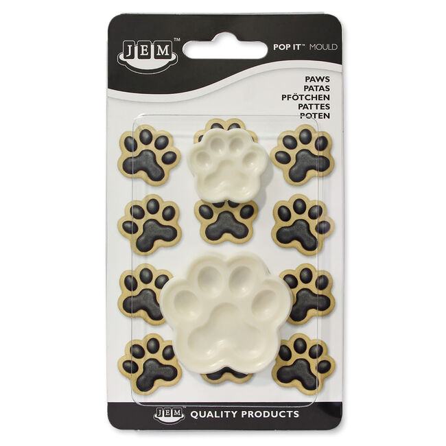 JEM Paws Pop It Moulds Set of 2