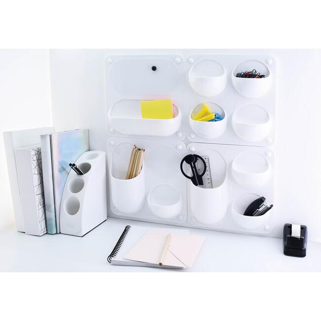 Olife Stationary Storage Organiser White
