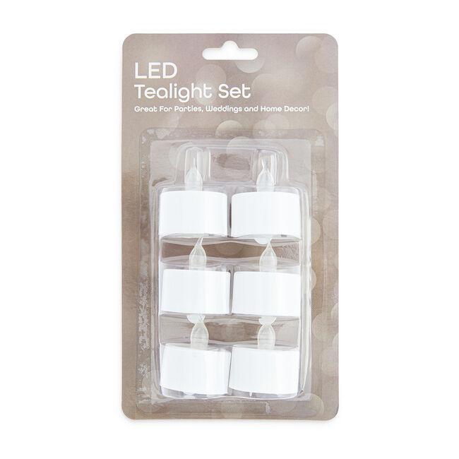 LED Tea Lights - 6 Pack