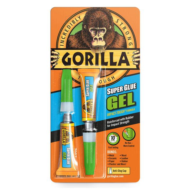 Gorilla Superglue Gel 2x3gm