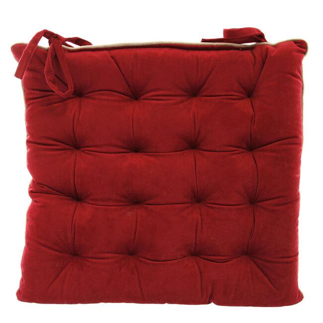 Naomi Kitchen Seat Pad - Red