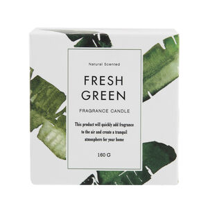 Fresh Green Scented Candle
