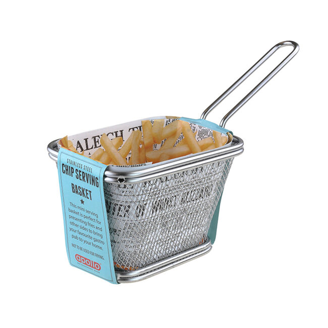 Apollo Rectangular Chip Serving Basket