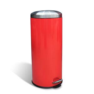 Forma 30L Red Pedal Bin
