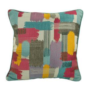 Capri Paint Stripe Cushion 45cm x 45cm