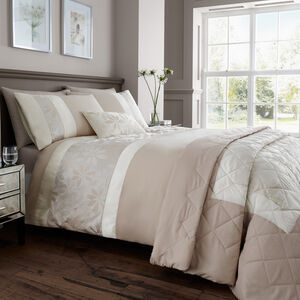 Hilary Ivory Duvet Cover