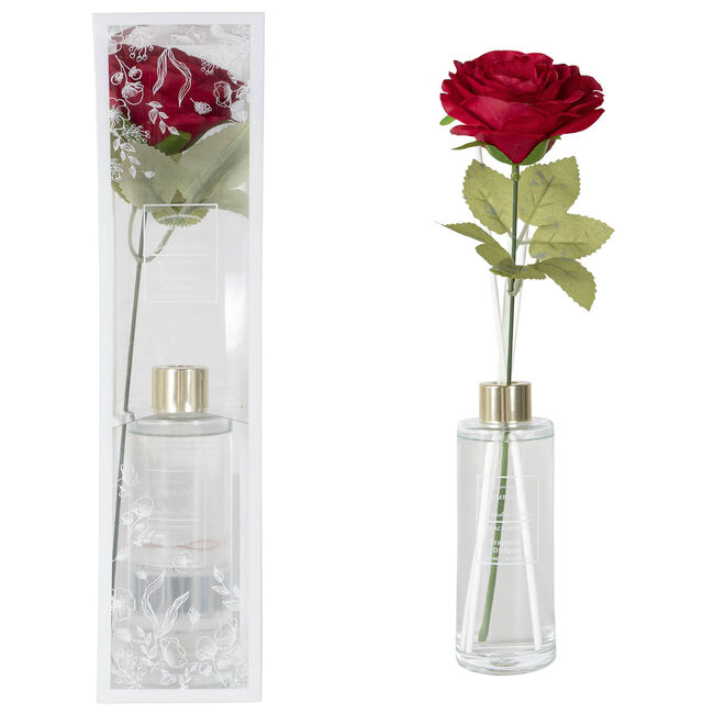 Ambianti Black Forest Rose Long Stem Reed Diffuser