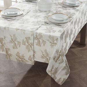 Glitter Bells Table Cloth