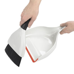 Good Grips Dust Pan & Brush Set