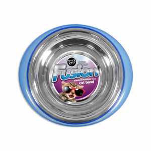 Fusion Stainless Steel Cat Bowl 14cm