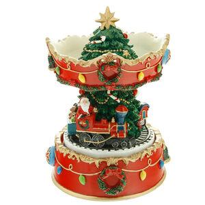Musical Rotating Christmas Carousel