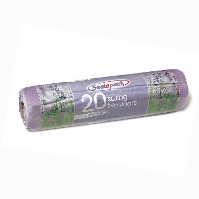 Sealpack Scented 20 Swing Bin Liners 60x95cm